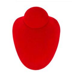 Suport coliere rosu 18 cm