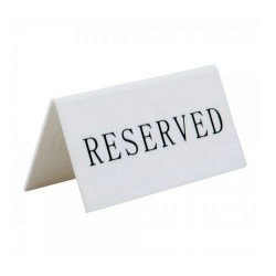 Suport Rezervat pentru mese restaurant