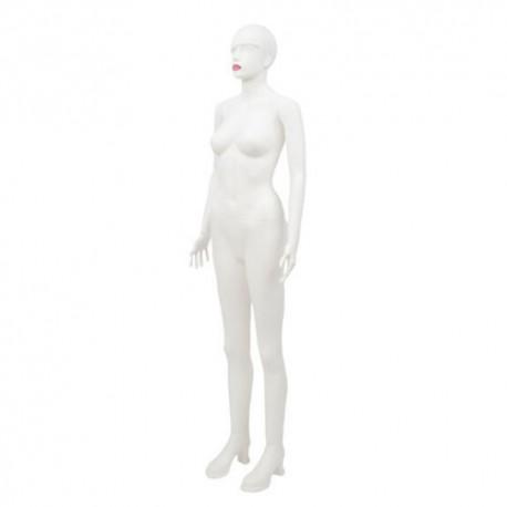 Manechin dama elegant din plastic alb