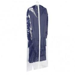 Husa protectie haine transparenta cu fermoar 137 x 60 cm