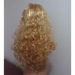 Peruca blonda cu par lung