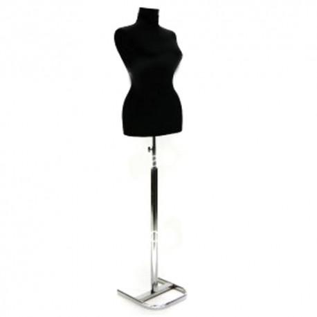 Manechin - Bust dama pentru croitorie cu picior cromant