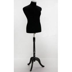 Bust croitorie barbat  cu picior din lemn gama Lux cu inaltime reglabial
