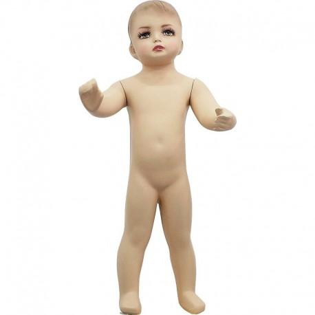 Manechin bebelus in picioare din fibra de sticla