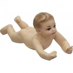 Manechin bebelus de-a busilea din fibra de sticla