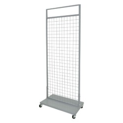 Plasa metalica cu podium de tabla